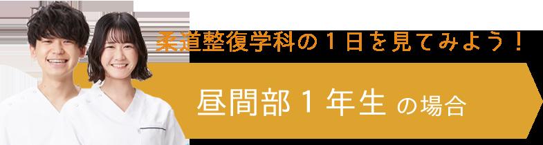柔道整復学科の1日を見てみよう!/昼間部1年生の場合